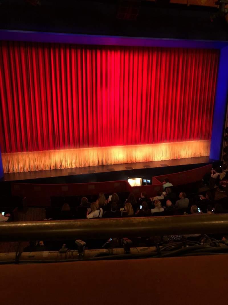 Vista sentada para Longacre Theatre Secção Mezzanine C Fila A Lugar 113