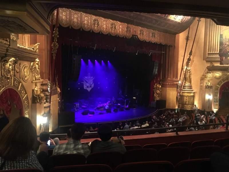 Vista sentada para Beacon Theatre Secção LOGE 3 Fila E Lugar 49