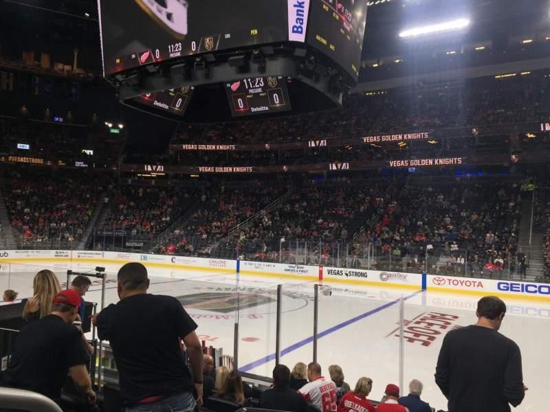 Vista sentada para T-Mobile Arena Secção 7 Fila E Lugar 1