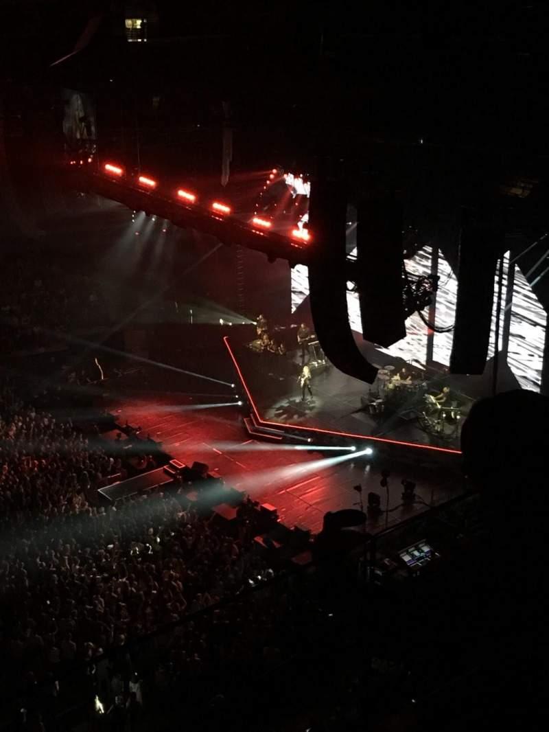 Vista sentada para Madison Square Garden Secção 313 Fila 2WC Lugar 2