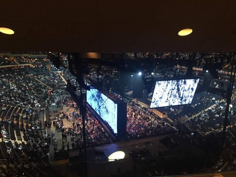 Vista sentada para Madison Square Garden Secção 415 Fila 4 Lugar 15