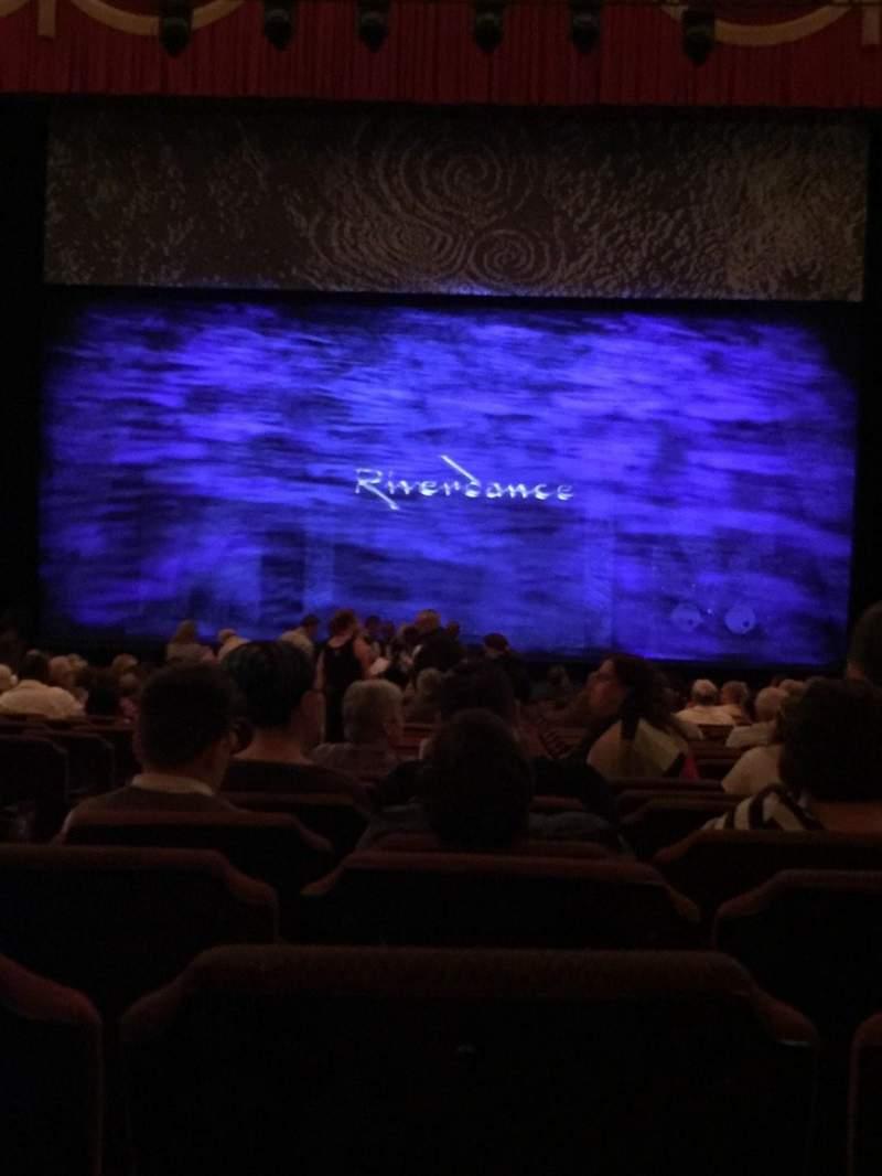 Vista sentada para Fox Theatre (Detroit) Secção F4 Fila AA Lugar 401