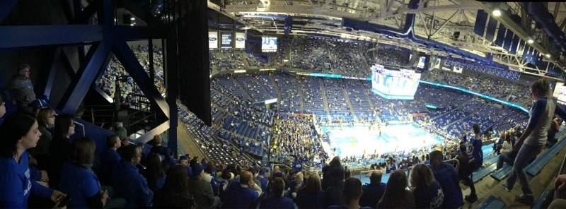 Vista sentada para Rupp Arena Secção 234 Fila W Lugar 6