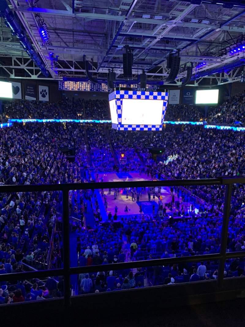 Vista sentada para Rupp Arena Secção 241 Fila C Lugar 3