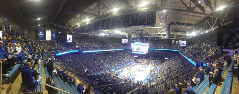 Vista sentada para Rupp Arena Secção 219 Fila M Lugar 29