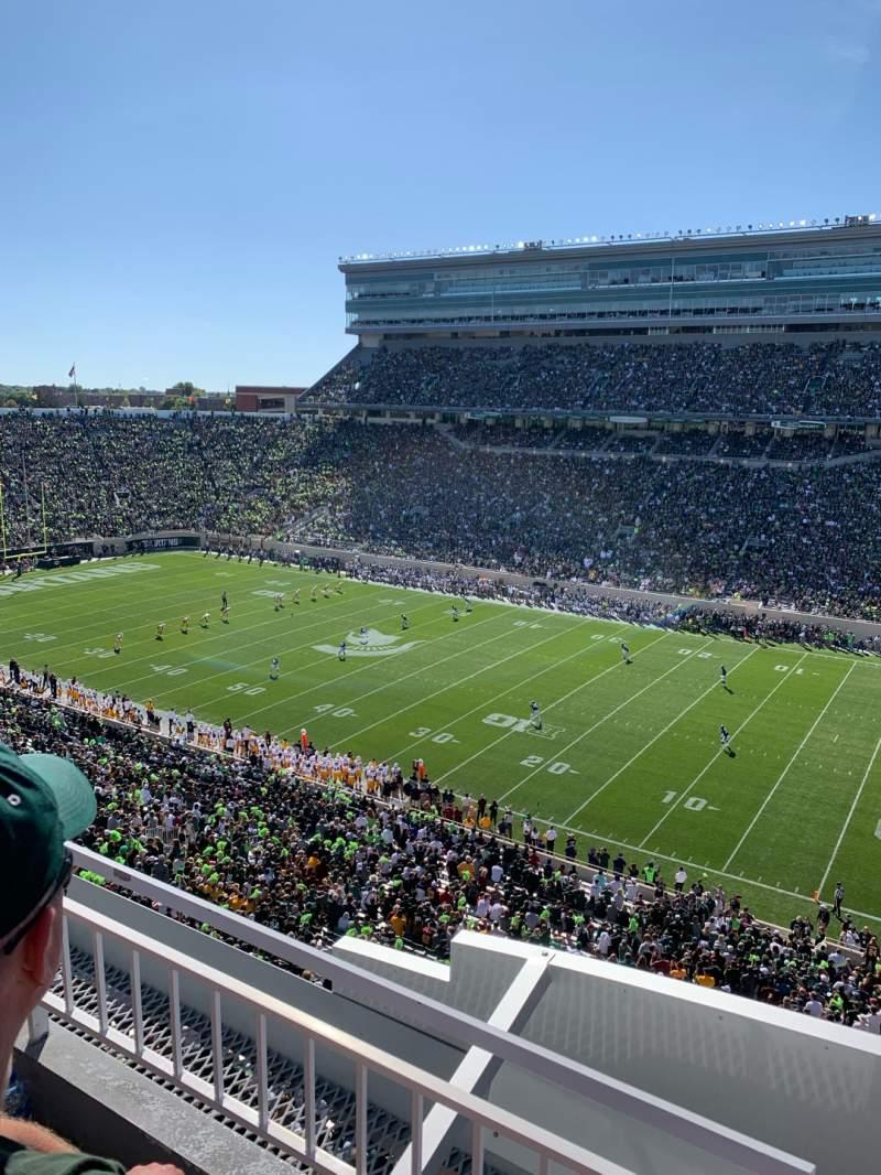 Vista sentada para Spartan Stadium Secção 106 Fila 2 Lugar 1