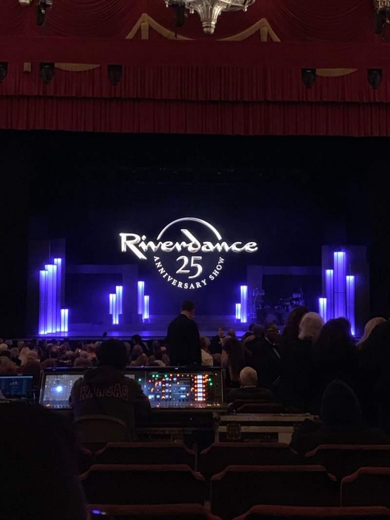 Vista sentada para Fox Theatre (Detroit) Secção F3 Fila CC Lugar 312