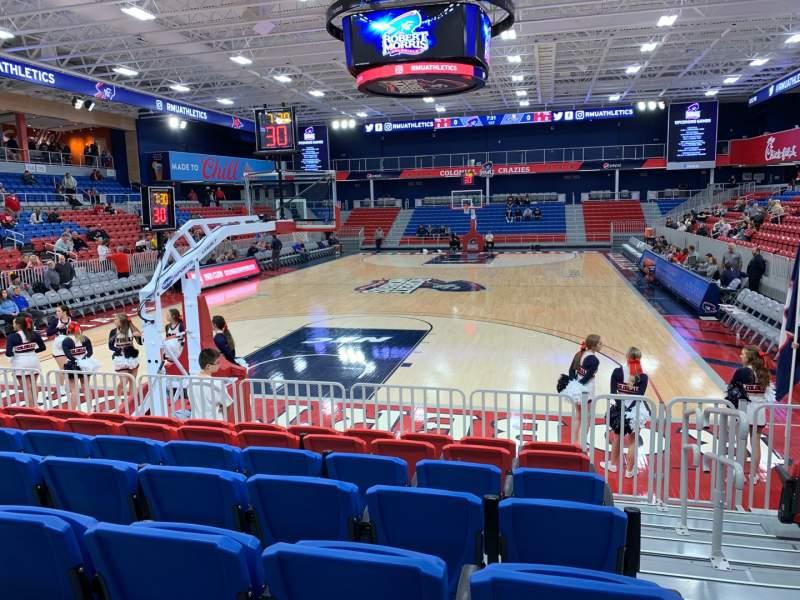 Vista sentada para UPMC Events Center Secção 110 Fila G Lugar 1