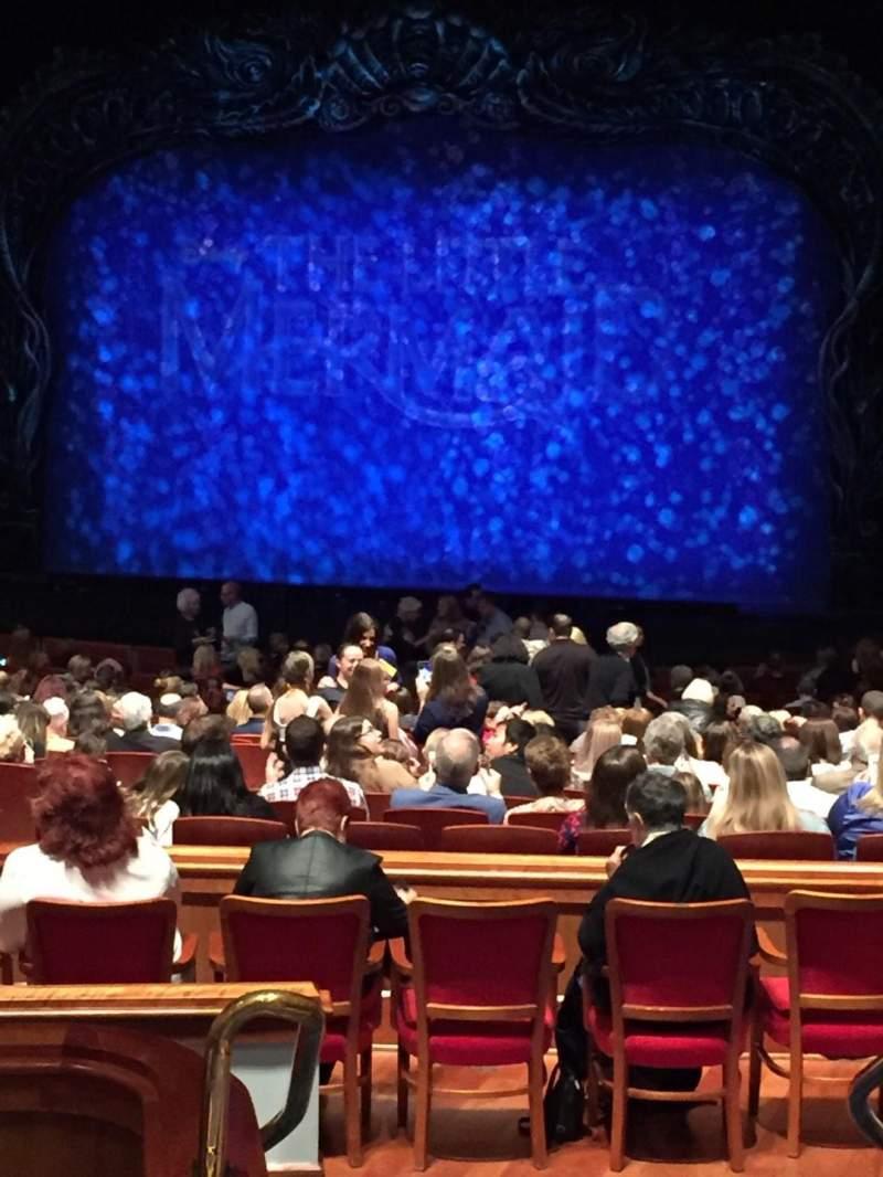 Vista sentada para Au-Rene Theatre at the Broward Center Secção Orch Fila FF Lugar 2