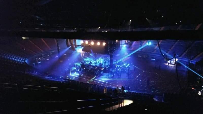 Vista sentada para The Forum Secção 213 Fila 22 Lugar 3