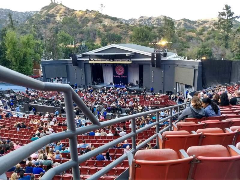 Vista sentada para The Greek Theatre Secção South Terrace R3 Fila X Lugar 2