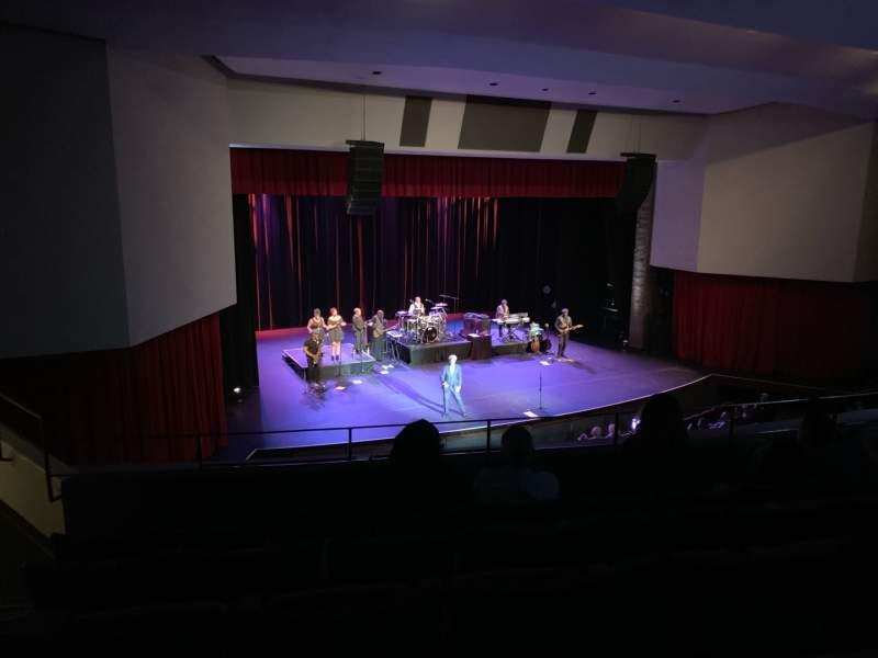 Vista sentada para Downey Theatre Secção Balcony Left Fila FF Lugar 1