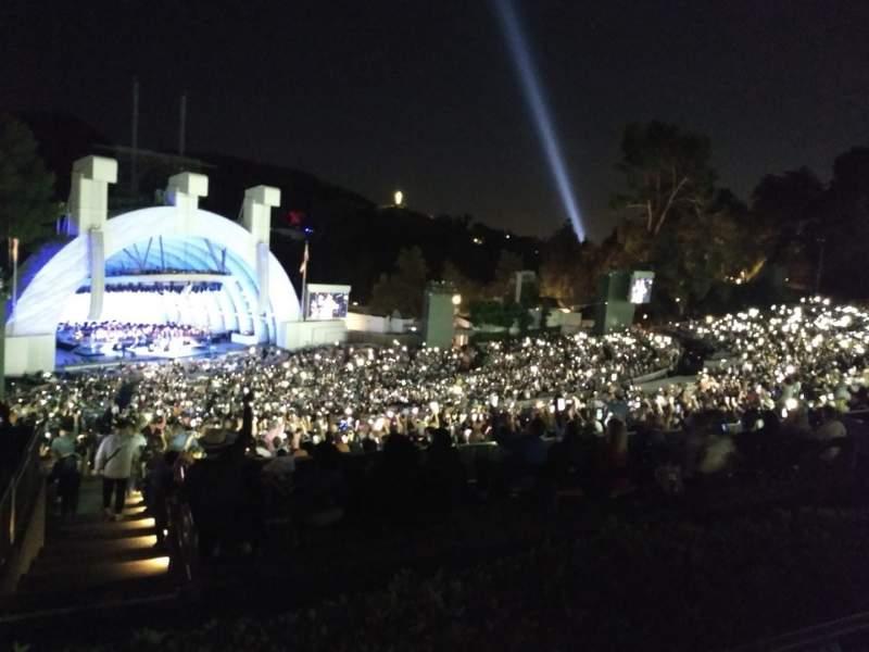 Vista sentada para Hollywood Bowl Secção P3 Fila 5 Lugar 23