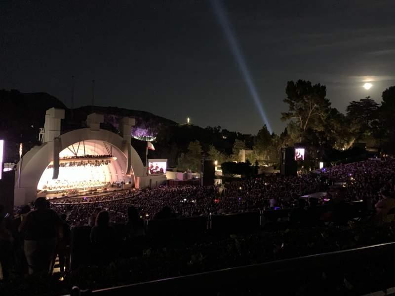Vista sentada para Hollywood Bowl Secção P3 Fila 1 Lugar 21