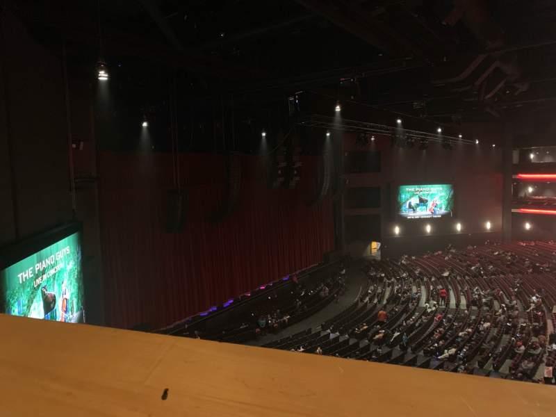 Vista sentada para Microsoft Theater Secção Mezz Box F Fila 1 Lugar 638