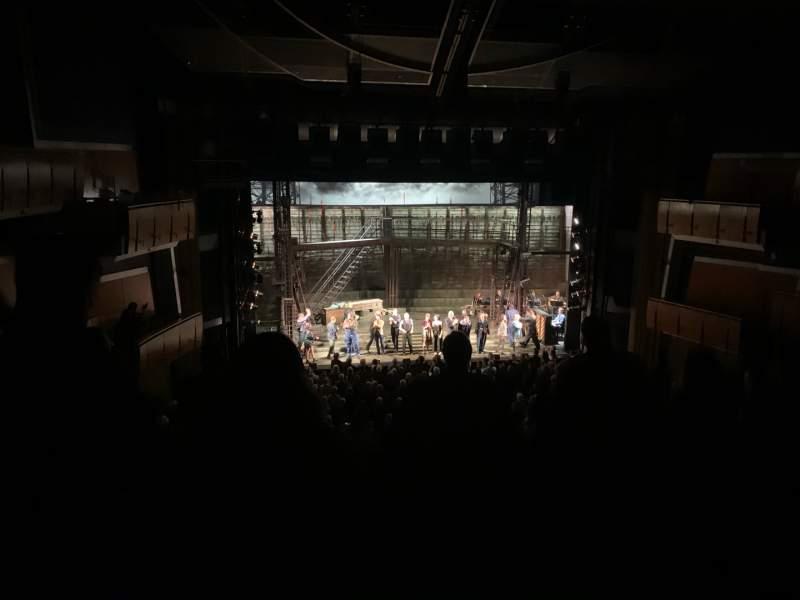Vista sentada para Ahmanson Theatre Secção Mezzanine Fila G Lugar 32