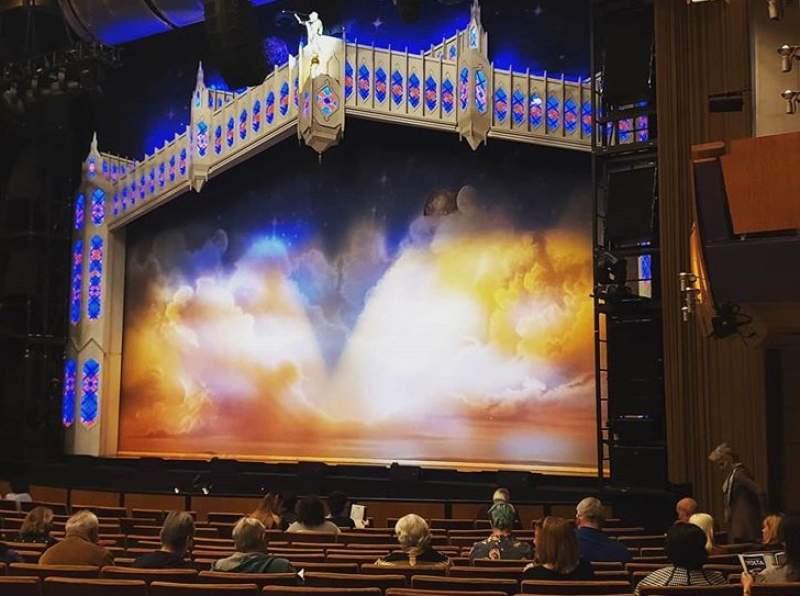 Vista sentada para Ahmanson Theatre Secção Orchestra Fila P Lugar 6