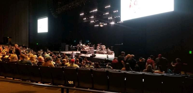 Vista sentada para The Theatre at Grand Prairie Secção 202 Fila BB Lugar 1