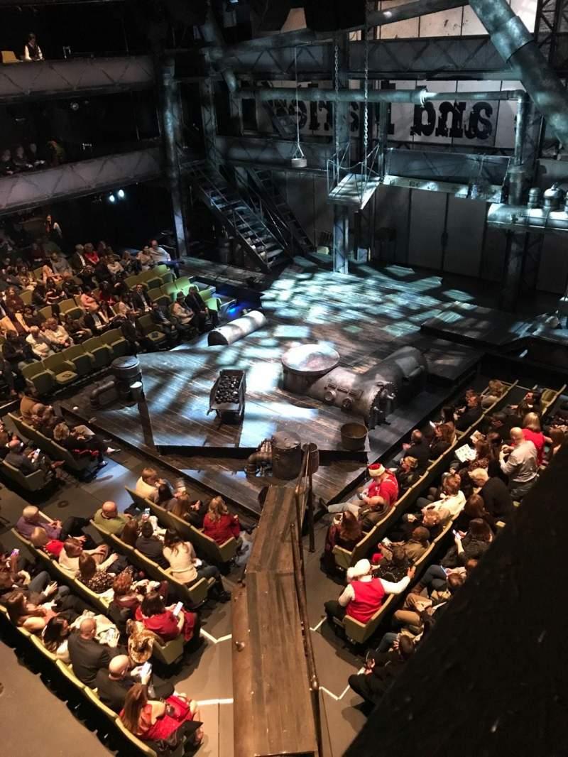 Vista sentada para Winspear Opera House Secção 3B Fila A Lugar 317