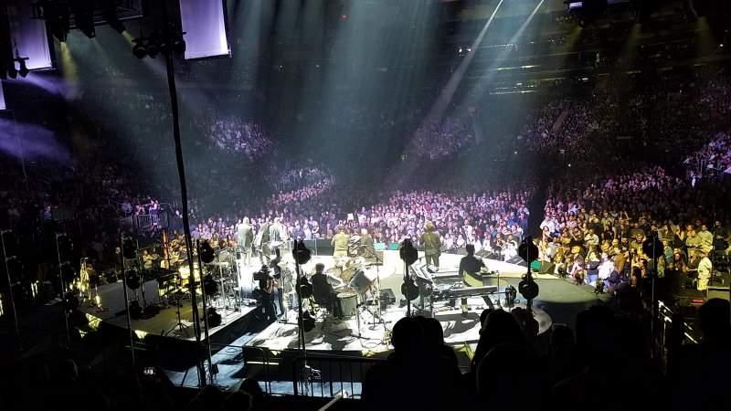 Vista sentada para Madison Square Garden Secção 113 Fila 12 Lugar 1