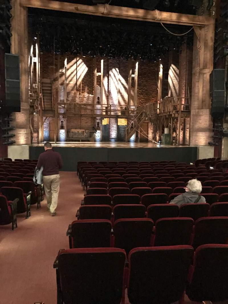 Vista sentada para CIBC Theatre Secção Orchestra C Fila S Lugar 101