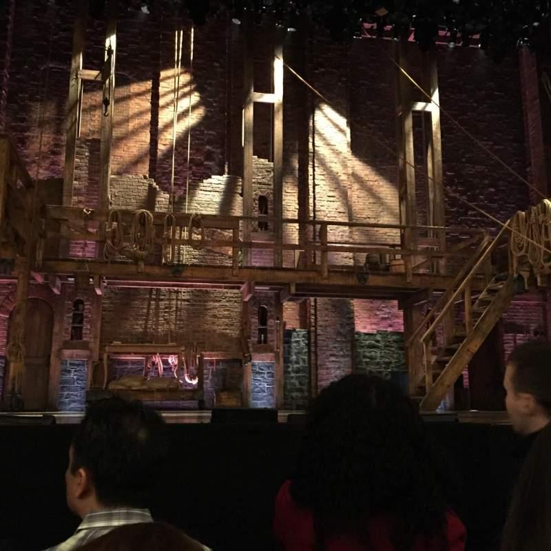 Vista sentada para Richard Rodgers Theatre Secção Orchestra C Fila E Lugar 111