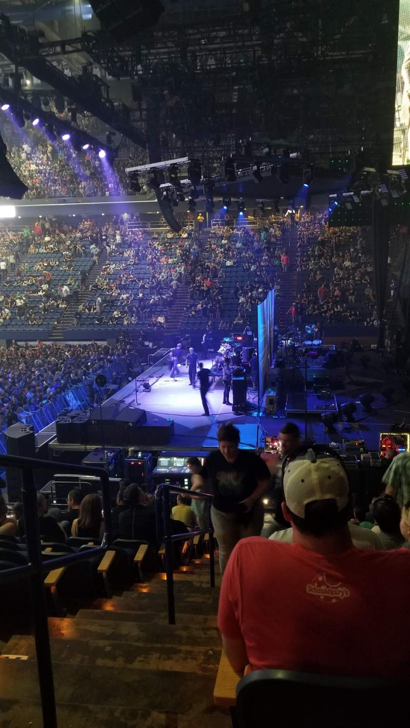 Vista sentada para Rupp Arena Secção 11 Fila N Lugar 14