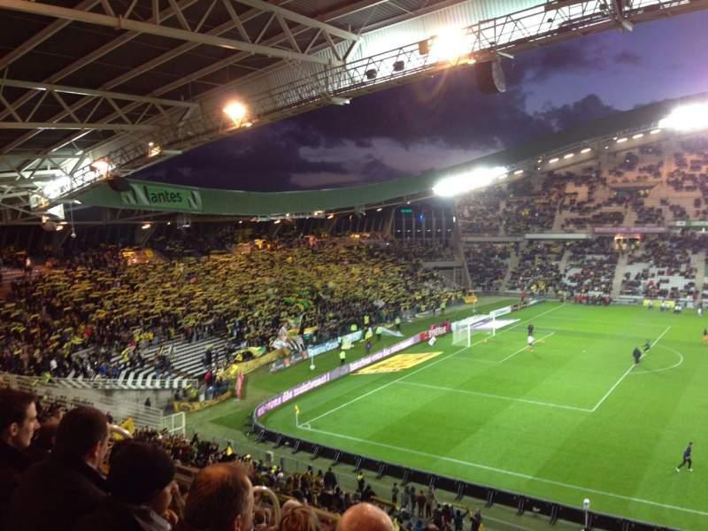 Vista sentada para Stade De La Beaujoire Secção E3F