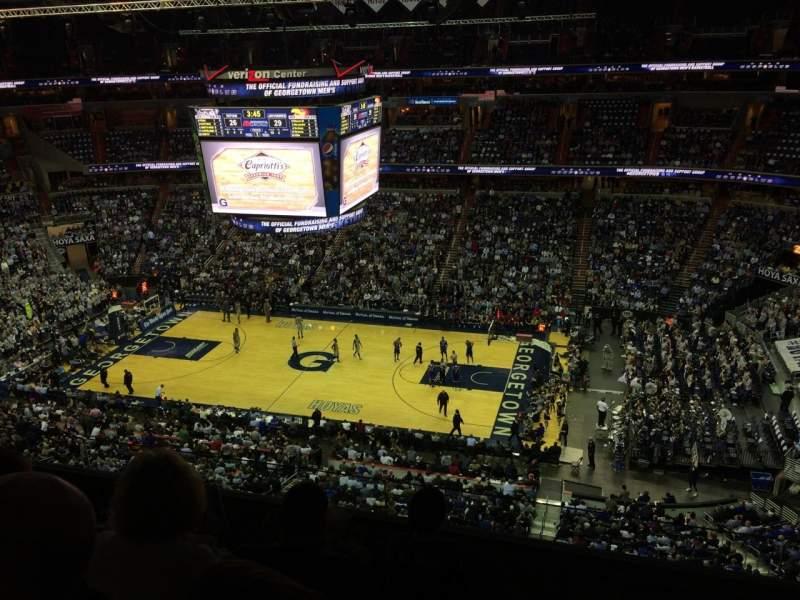 Vista sentada para Capital One Arena Secção 419 Fila D Lugar 10